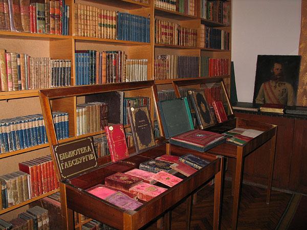 """Приміщення, де знаходиться колекція """"Бібліотека Габсбургів"""""""