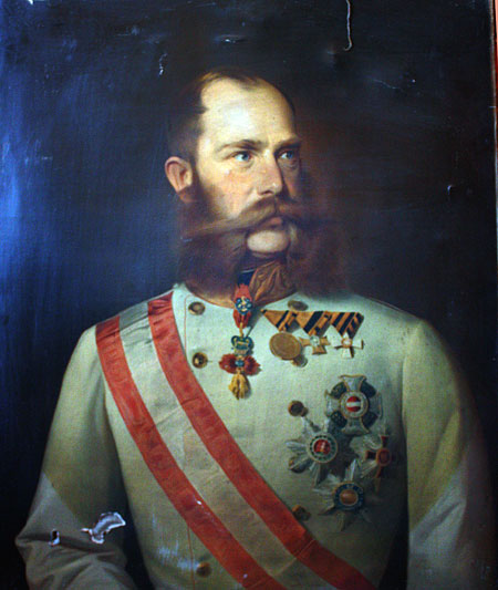 Портрет кайзера Франца-Йосифа в маршальській формі