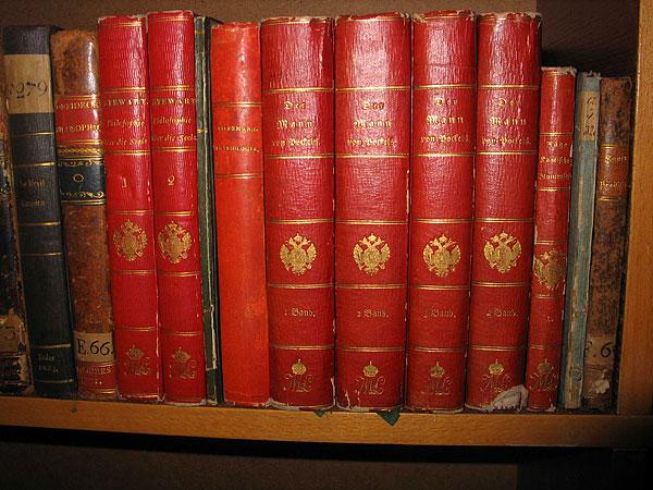Книги з монограмою ML, які належали імператриці Марії-Луізі (1791-1847)
