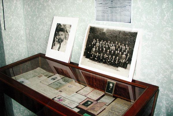 Особисті речі та фотографії В. Сімовича
