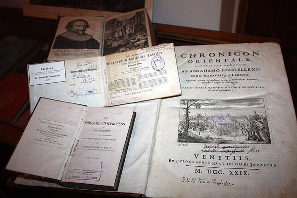 Книги з бібліотеки К. Томащука